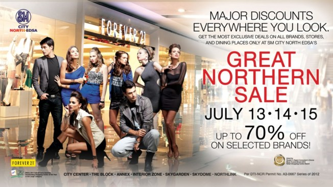 SM North EDSA Great Northern Sale