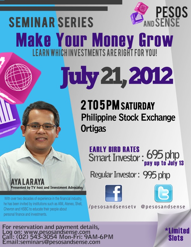 make your money grow seminar