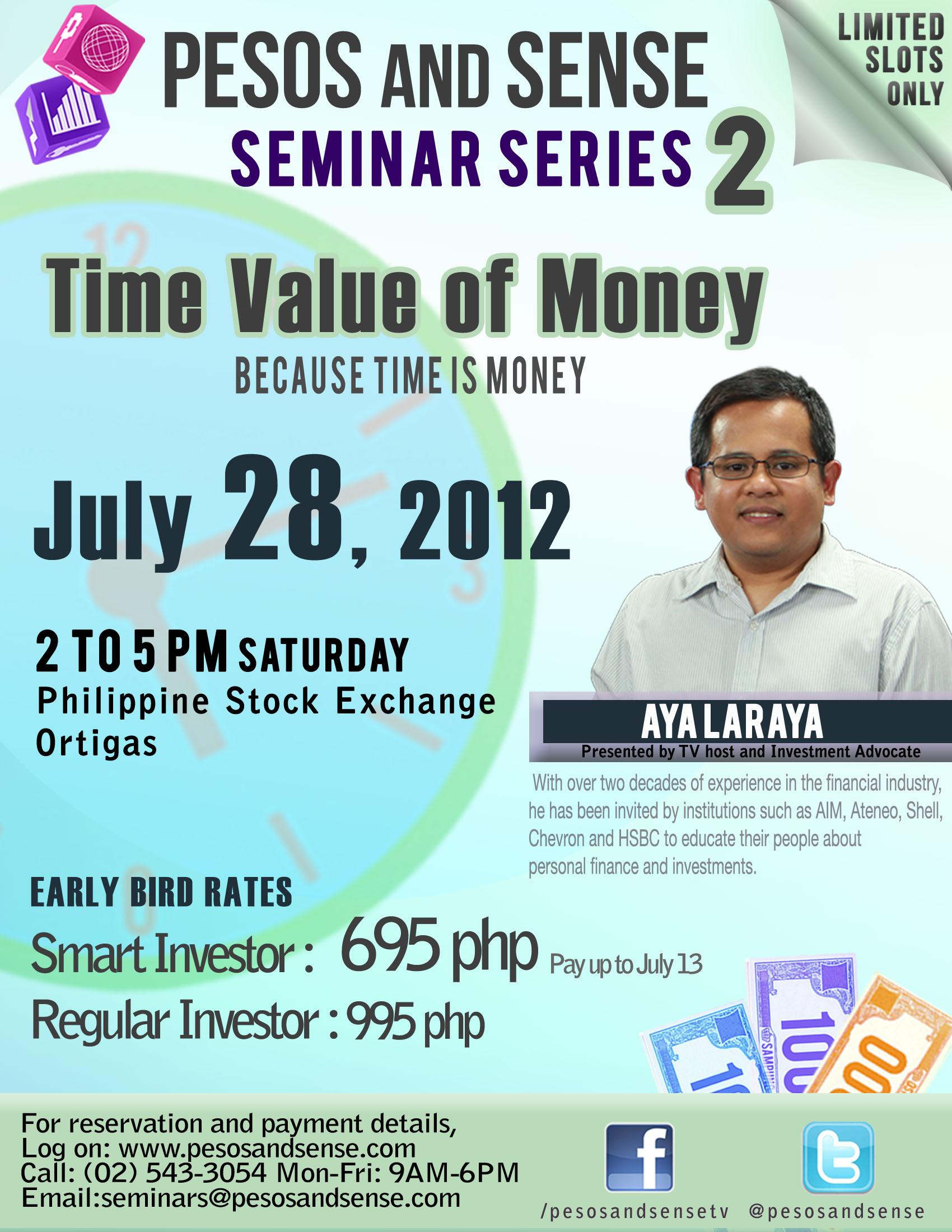 aff55507666 time value of money seminar