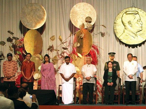 Ramon Magsaysay Awards 2012