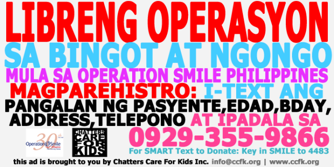 operation smile share info